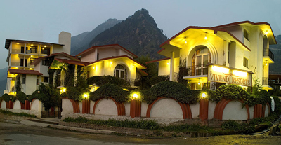 outside view, budget resorts in manali
