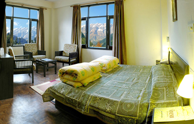 platinum-double-view-room, excellent and luxury resorts in manali