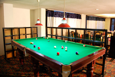 pool-table, luxury hotel in manali