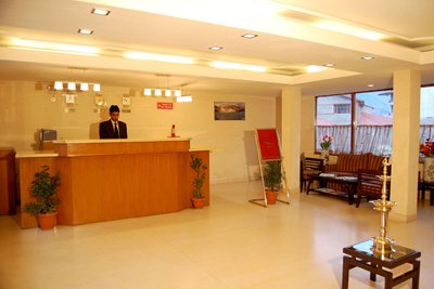 reception1, 2 star resorts in manali