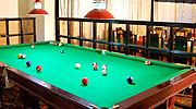 pool-table, luxury resorts in manali