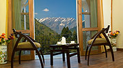 view-from-cottage-room, resorts in manali india