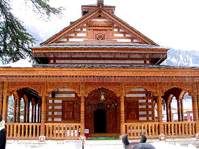 manali-temples-real-view,  resorts in manali india