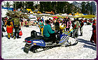 skiing-on-the-rela-snow-of-manali-rohtang, luxury resorts in manali